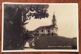 SLOVENIA CHIESA DI MARIA VERGINE,  LUBIANA CERKVICA NA ROZNIKU PRI LJUBLJANI VIAGGIATA 1930 - Slovenia