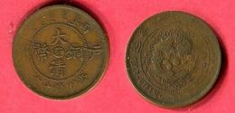ANHWEI 10 CASH ( Y 10A) 1906 TB 15 - China