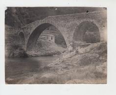 PHOTO ANCIENNE 12X9 / VIEUX PONT à LA BOUCHARADE - AOUT 1923 - Lieux