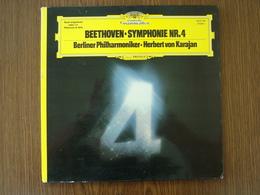 33 Tours: BEETHOVEN - SYMPHONIE NR.4 - Berliner Philharmoniker - H. VON KARAJAN - Deutsche Grammophon 2531 104 Stéréo - Classique