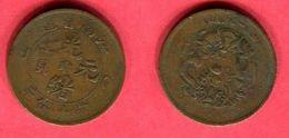 KIANGNAN  10 CASH ( Y 138.1) 1905    TB 8 - China