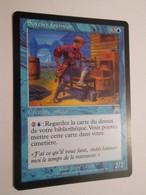 CARTE DE JEU MAGIC THE GATHERING (en Français) SORCIER FOUINEUR - Magic The Gathering