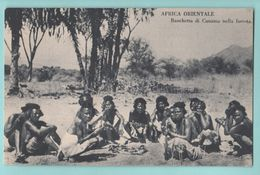 Africa Afrika Eritrea Costumi AOI Banchetto Cunama Folklore Costumi - Costumi