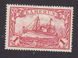 Cameroun, Scott #16, Mint Hinged, Kaiser's Yacht, Issued 1900 - Colony: Cameroun