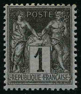FRANCE - YT 83 ** - SAGE Type II 1c - TIMBRE NEUF ** - 1876-1898 Sage (Type II)