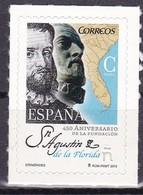 2015, Spanien, 5001, Pedro Menéndez, MNH ** - 1931-Hoy: 2ª República - ... Juan Carlos I