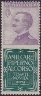 Italia Regno PUBBLICITARIO – 180 ** 1924-25 – 50 C. Piperno N. 13. Cat. € 6000,00. Cert. E. Diena. SPL - Pubblicitari