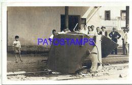 92338 PARAGUAY HELP RAILROAD RARE POSTAL POSTCARD - Paraguay