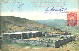 PIE-R-18-1320 : KHAN EL AHMAR. SCHAUPLATZ DER BARMHERZIGE SAMARITER EPISODE - Jordanie