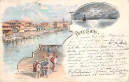 Egypte - Port-Saïd - Multivues Souvenir - Puerto Saíd