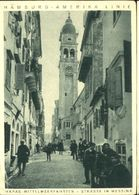 10606992 Messina Messina Telegramm Hapag-Mittelmeerfahrt D. Dampfers >>Oceana<< - Non Classés