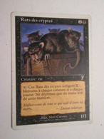 CARTE DE JEU MAGIC THE GATHERING (en Français) RATS DES CRYPTES - Magic The Gathering