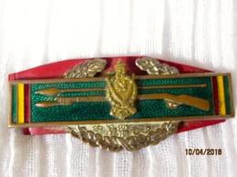 Ethiopia: Pin Imperial Guard (Kabur Zabagna) Service In Korean - Armée De Terre