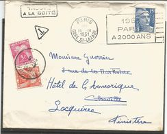Enveloppe Ancienne . Timbre TAXE De FRANCE. 1951 - Collections