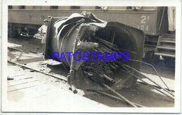 92339 PARAGUAY HELP RAILROAD TREN TRAIN RARE POSTAL POSTCARD - Paraguay