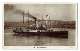 U.K. - City Of Rochester - H.W.HERBERT - Newsagent - Chatman - Carte Photo Ayant Voyagé - - Rochester