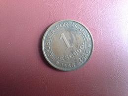 Portugal Colonia  Guine  1 Escudo 1946 7.5gr - Portugal