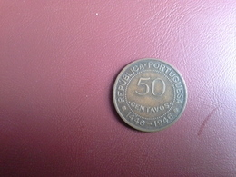 Portugal Colonia  Guine  50 Centavos 1946  4gr - Portugal