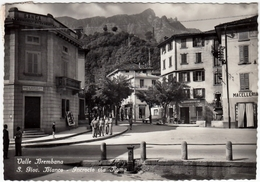 VALLE BREMBANA - SAN GIOVANNI BIANCO - INCROCIO VIA ROMA - BERGAMO - 1954 - Bergamo