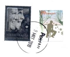 Nederland - 2013 - Zilveren Aangetekend Zegel Met Beatrix En Willem Alexander - Echt Gebruikt - Periode 2013-... (Willem-Alexander)
