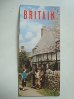 BRITAIN. LAND OF HISTORY AND SCENIC BEAUTY - UK, ENGLAND, 1956 APROX. MINT CONDITION. - Reiseprospekte