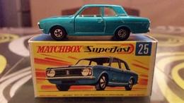 Matchbox 25d Ford Cortina Mk 2 MIB - Matchbox (Lesney)