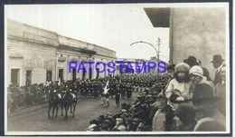 92348 PARAGUAY HELP POLITICA MILITARY SOLDIER PARADE PHOTO NO POSTAL POSTCARD - Paraguay