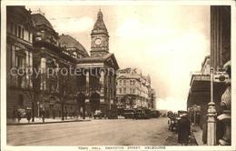 11689210 Melbourne Victoria Town Hall Swanston Street - Australie