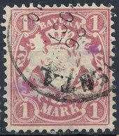 BAVARIA 1881-1906 1M Used Lot#4 - Beieren