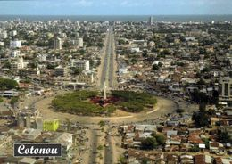 1 AK Benin * Blick Auf Die Stadt Cotonou - Regierungssitz Aber Nicht Die Hauptstadt Des Landes - Luftbildaufnahme * - Benín