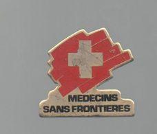 PINS PIN'S PHARMACIE SANTE MEDECINE MSF MEDECINS SANS FRONTIERES SUISSE - Medical