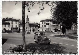 TREVIGLIO - PIAZZA INSURREZIONE - BERGAMO - 1956 - AUTOMOBILI - CARS - Bergamo