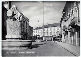 TREVIGLIO - PIAZZA GARIBALDI - BERGAMO - 1954 - AUTOMOBILI - CARS - Bergamo