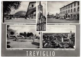TREVIGLIO - VEDUTE - BERGAMO - 1958 - Bergamo