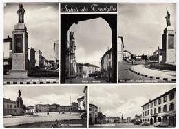 TREVIGLIO - VEDUTE - BERGAMO - 1957 - Bergamo