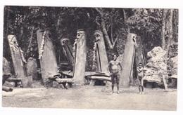 Grande CP Médicale PLASMARINE (oligo-éléments Sels Minéraux), VI. Nouvelles-Hébrides, Bougainville, 1954. - Pubblicitari