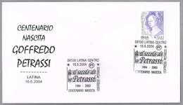 100 Años Nacimiento Compositor GOFFREDO PETRASSI - Composer. Latina 2004 - Musica