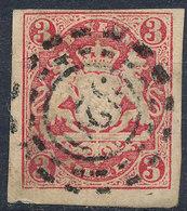 BAVARIA 1862-68? 3kr Used Lot#69 - Bayern