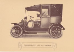 POSTCARD  - CHARRON - PRIVAT  VEHICLES - OLD CAR - Voitures De Tourisme