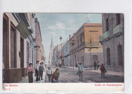 MEXICO. 588. CALLE EN GUADALAJARA. J C S.-TBE-BLEUP - Mexico