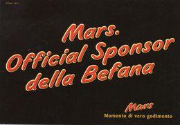 CIOCCOLATO , Mars   ,  Pubblicitaria - Ricette Di Cucina
