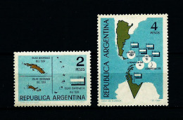 Argentina  Nº Yvert  682/3  En Nuevo - Ungebraucht