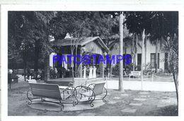 92374 PARAGUAY ASUNCION VIEW GARDEN REGISTERED CIRCULATED TO AUSTRIA PHOTO NO POSTAL POSTCARD - Paraguay