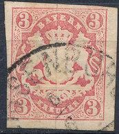 BAVARIA 1862-68? 3kr Used Lot#85 - Bavaria