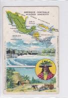 MEXICO. AMERIQUE CENTRALE. MIDDEN AMERIKA. MAPA MAP CARTE.-TBE-BLEUP - Mexico