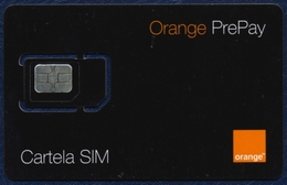 MOLDOVA - MOLDAVIA GSM (SIM) CARD ORANGE BLACK PERFECT MINT UNUSED - Moldova