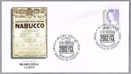 Opera NABUCCO De Giuseppe Verdi. Milano Isola 2013 - Musique
