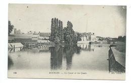 18/ CHER...BOURGES. Le Canal Et Les Quais - Bourges