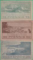 3 Billets - Deutschland - Niendorf, 3 Scheine Von 1921 - [11] Local Banknote Issues