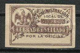 México. 1892. Sello De Retorno. - México